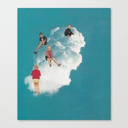 Cloud Playground Canvas Print