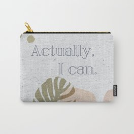 Inspirational Abstract Carry-All Pouch