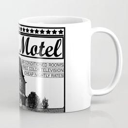 Bates Motel Advertisement - Black Type Coffee Mug