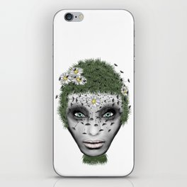 Face Nature iPhone Skin
