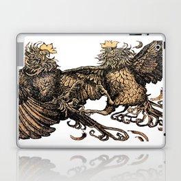 Two Kings - Roosters Laptop & iPad Skin