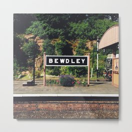 Bewdley Severn Valley Railway Station Metal Print