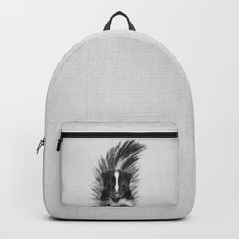 Skunk - Black & White Backpack