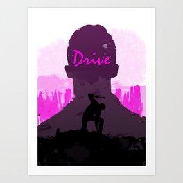 Drive – Movie Poster Art Print