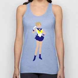 Sailor Uranus (Blue) Unisex Tank Top