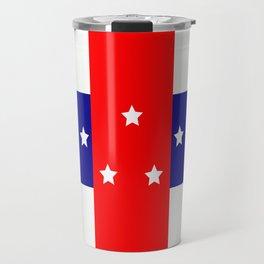 Flag of the Netherlands Antilles Travel Mug
