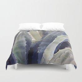 Winter Agave Duvet Cover