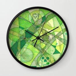 Meditator #10 Wall Clock