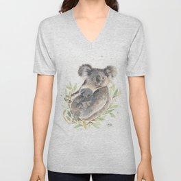 Koalas Unisex V-Neck