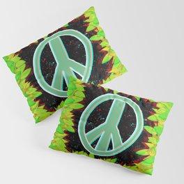 Green Peace Pillow Sham