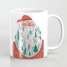 Snowy Santa Beard Coffee Mug