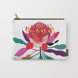 Australian Native; Waratah Carry-All Pouch