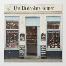 The Chocolate Corner Canvas Print