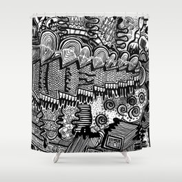 The Map Shower Curtain