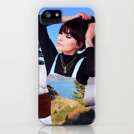 Baker Beach Girl iPhone Case