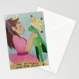 the princess and the frog Stationery Cards