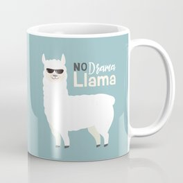 NO DRAMA LLAMA Coffee Mug