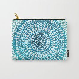 Radiate in Teal + Emerald Carry-All Pouch