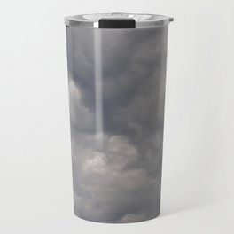 Sudden weather changer over the lake Travel Mug