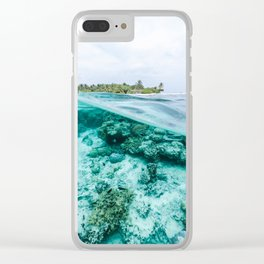 Underwater Maldives Clear iPhone Case