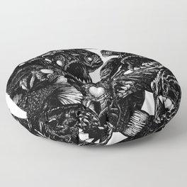 The Riot : Piranhas Floor Pillow