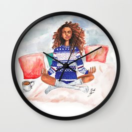 Holiday Zen Wall Clock