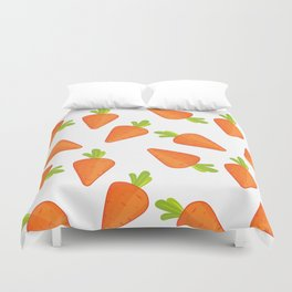 carrot pattern Duvet Cover