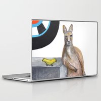 kangaroo Laptop & iPad Skins featuring Kangaroo by Big AL