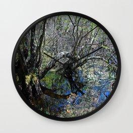 Quiet Litany Wall Clock