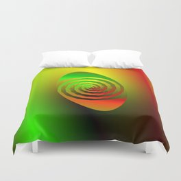Together Entwined as One Duvet Cover