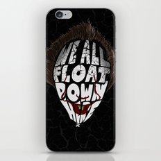 We all float iPhone Skin