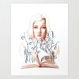 Encriptaciones Art Print