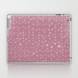 Sunset in Odense XI Hand drawn doodle floral Laptop & iPad Skin