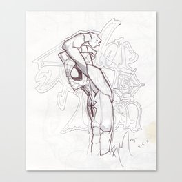 Spidey - Tude Canvas Print