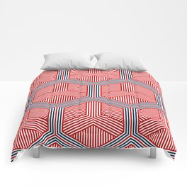 Hexagon No. 2 Comforters
