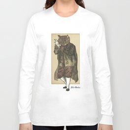Tambourine Cat Long Sleeve T-shirt