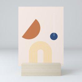 Shape Study 01 Mini Art Print