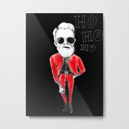 Cool santa Metal Print