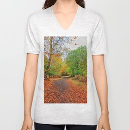 Autumn Dream Unisex V-Neck
