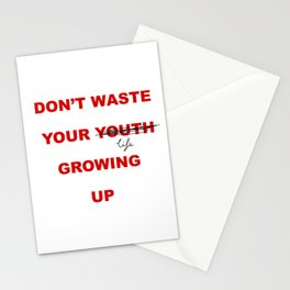 Waste, not Stationery Cards
