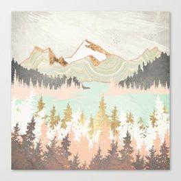 Winter Bay Canvas Print