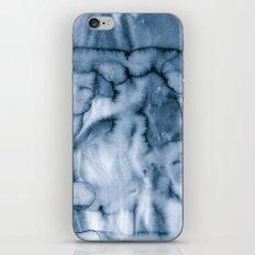 grey blues iPhone Skin