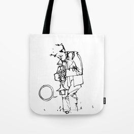 the trumpeter Tote Bag