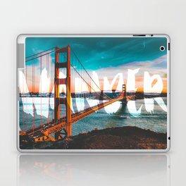 Wander Golden Gate Bridge Laptop & iPad Skin