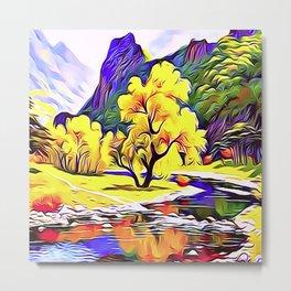 Palo Verde Tree Metal Print
