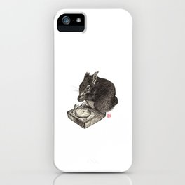 DJ Squirrel iPhone Case
