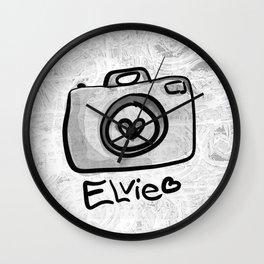 Camera Elvie Wall Clock