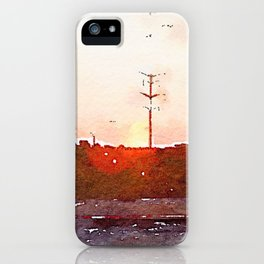 Four Hours In The Car iPhone Case