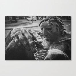 Think man. Canvas Print