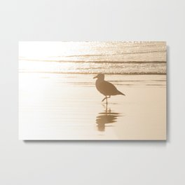 Meet Me at the Beach Metal Print